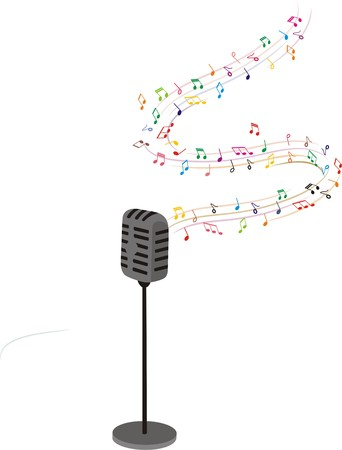 MUSIC HEART Illustration