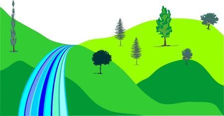 grass plot: MOUNTAIN SPRING WATER