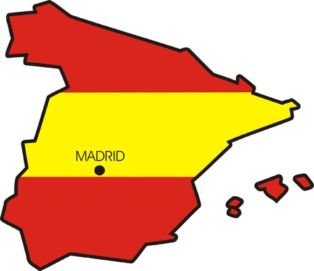 europa: SPANISH FLAG