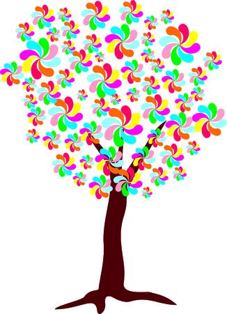 vegetal: FLOWERING TREE