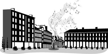 JOY IN THE CITY Ilustrace