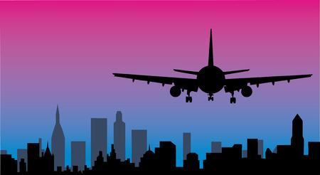 Vliegtuigbeweging op een luchthaven