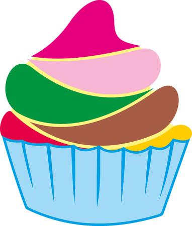 Refreshing cupcake dessert presented in a pot.