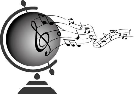 World music Envolees illustration