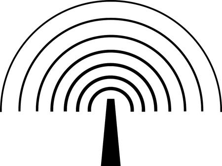 EMITTING ANTENNA FOR WIRELESS COMMUNICATION Standard-Bild - 111746634