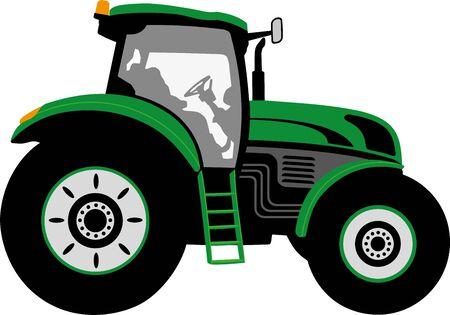 FARM TRACTOR Standard-Bild
