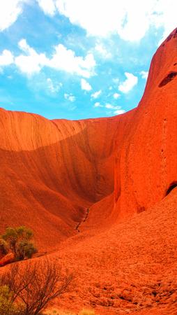 tjuta: Red rock in Uluru-Katatjuta National Park, Australia Stock Photo