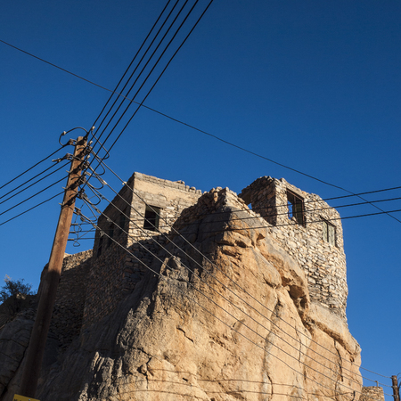 At Misfat Abriyeen, Al Hamra, Oman Stock Photo