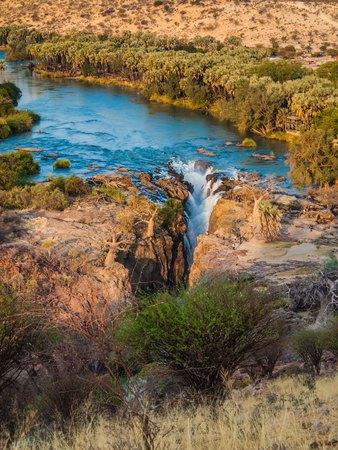 Epupa Falls, Namibia, Africa Stock Photo
