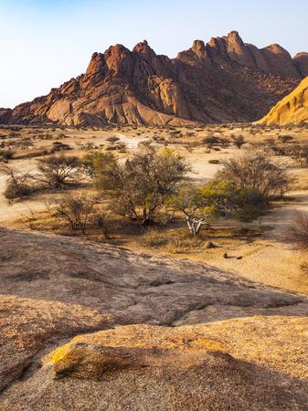 Spitzkoppe, Damaraland, Namibia Stock Photo