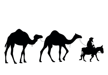 cartoon camel: Camel Caravan
