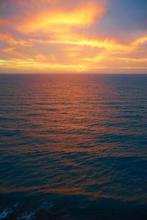 december sunrise: Sunrise over atlantic ocean Sunrise in December on Gran Canaria