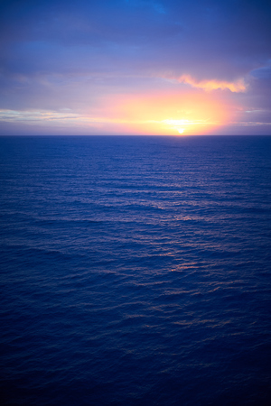 sunrise ocean: Sunrise over atlantic ocean Sunrise in December on Gran Canaria