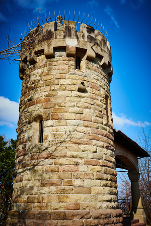 rapunzel: Stronghold  Watch Tower of ruin castle in Germany