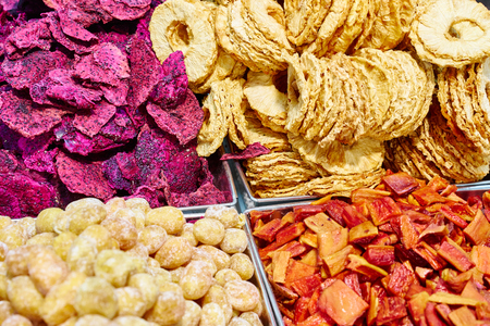 dried fruits for snack