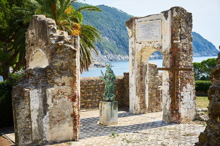 archways: Religious monuments in Italy  Sestri Levante Liguria
