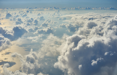 Tranquility over the clouds  Cloudscape in the heavens above