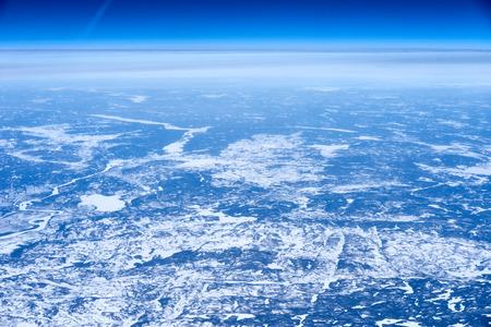 newfoundland: Northeast Canada from highfacts  Arctic lands of Newfoundland Stock Photo