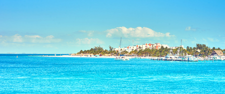 Caribbean Island with very nice beaches next to Cancun  North Beach of