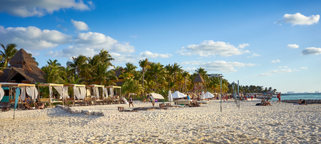 yucatan: Caribbean Island with very nice beaches next to Cancun  North Beach of