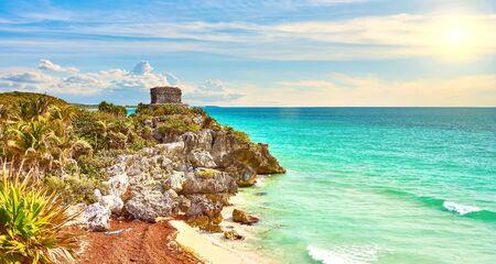 Ruins of Tulum / Caribbean coast of Mexico - Quintana Roo
