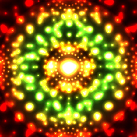 corpuscle: Vector abstract glowing micro cosmos background  Eps10