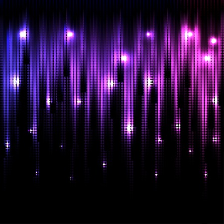 Vector color abstract glowing disco background  Eps10