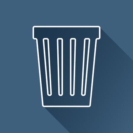 basket icon: basket icon.  Illustration