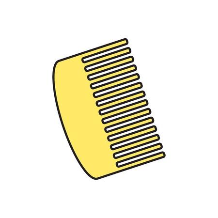 hairbrush: Vector hairbrush icon. Eps10
