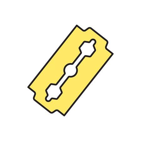 blade: Vector blade icon. Eps10 Illustration