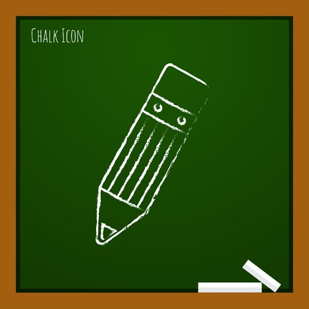 sharpened: Vector pencil icon. Eps10