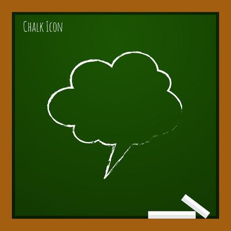 callout: Vector callout icon. Eps10