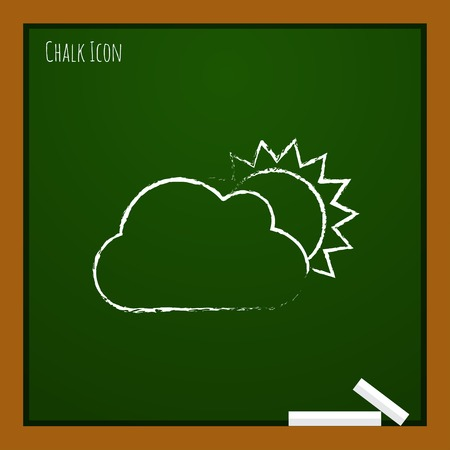 cloudiness: Vector cloudiness icon.  Illustration