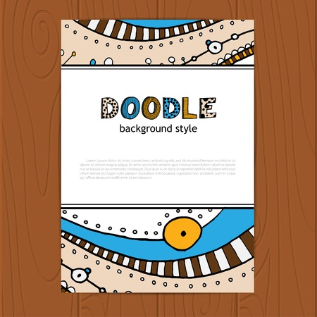 doddle: Vector hand drawing doddle corporate identity.