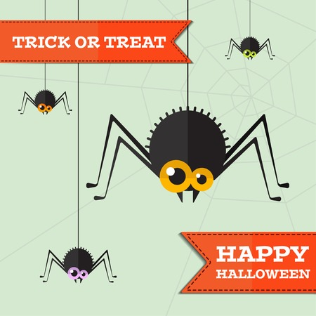 background image: halloween spider background.