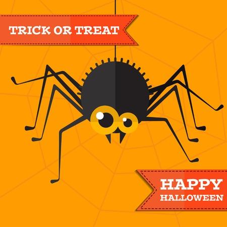 halloween spider: halloween spider background.