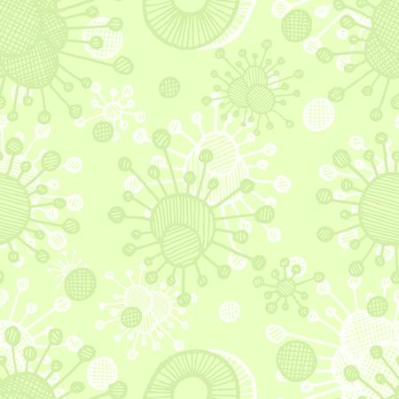 bacterial: Vector  bacterial background. Eps10