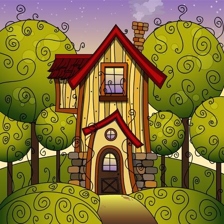 fabulous: Sunny yellow - green summer fabulous home.