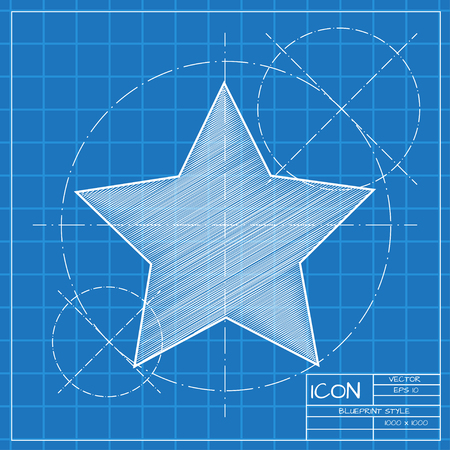 crankle: Vector blueprint waves icon . Engineer and architect background.