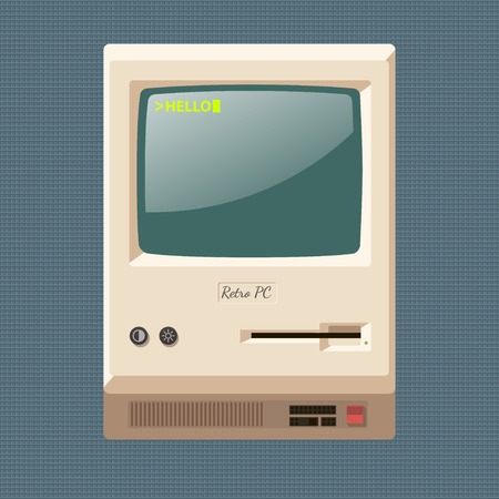 personal computer: vintage personal computer
