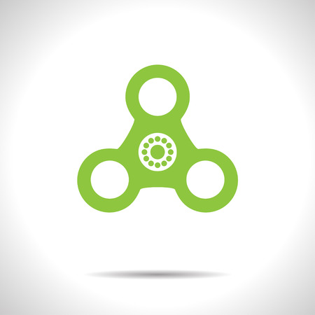 Hand spinner icon.