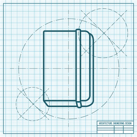Free blueprint vector vector and clip art inspiration vector blueprint book icon on engineer and architect background rh 123rf com free car blueprint vector malvernweather Choice Image