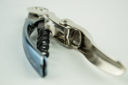 cork screw: Cork screw on white background