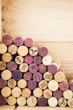 close-ups of wine corks backgrounds photo