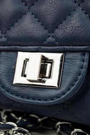 Blue vintage handbag photo