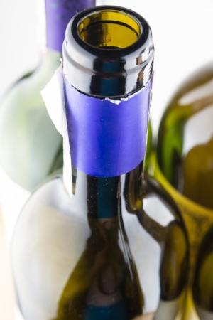 Tapas de botellas de vino Foto de archivo - 19941027