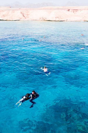 el sheikh: Beach Sharm el-Sheikh Editorial