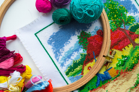 handicrafts: Handicrafts - Sewing and Embroidery