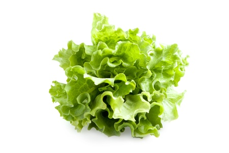 Lettuces leaves photo