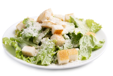 Caesar salad without meat photo